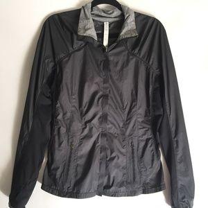 Lululemon Windbreaker Jacket Size 8 Mesh Back